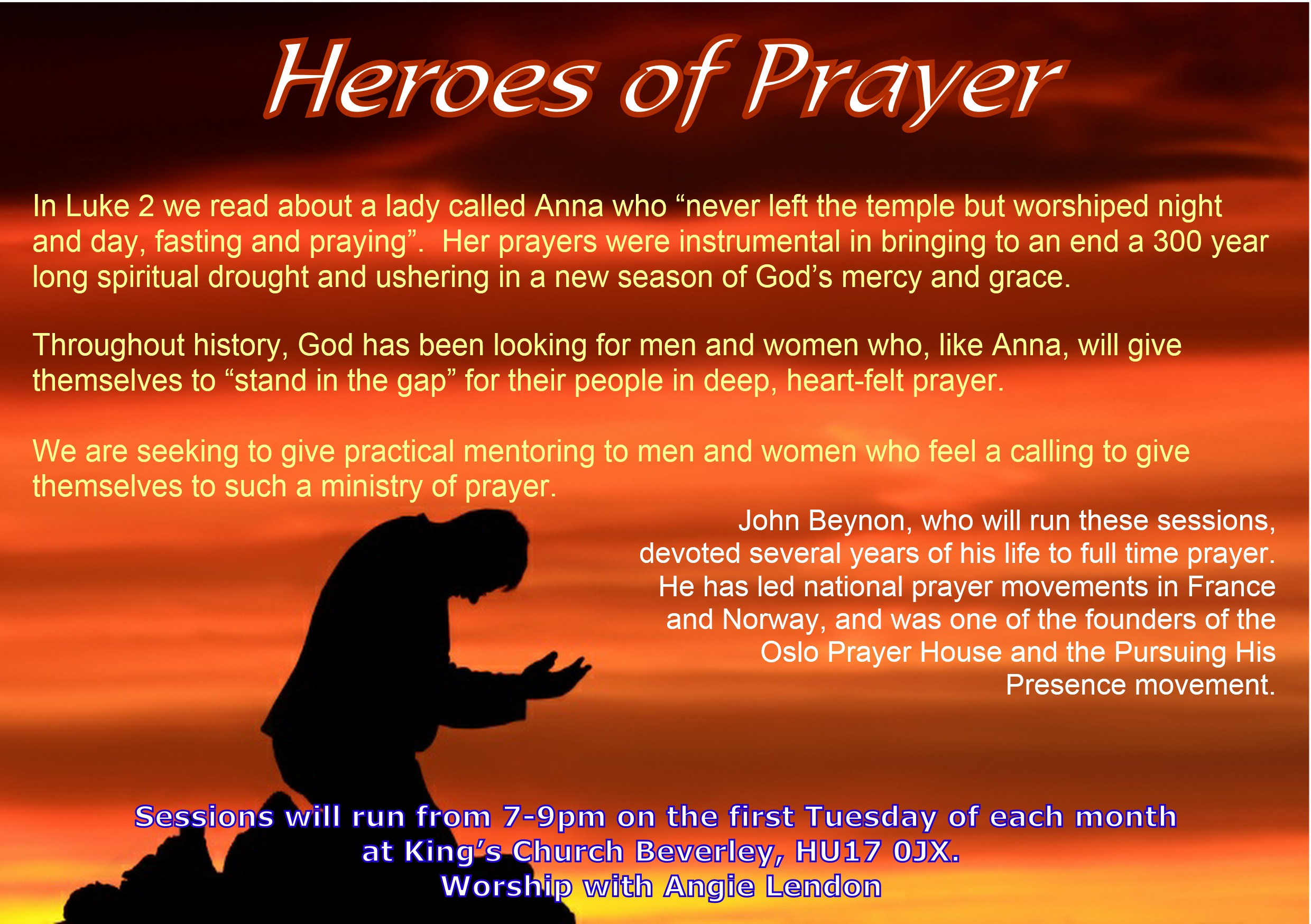 Heroes of prayer